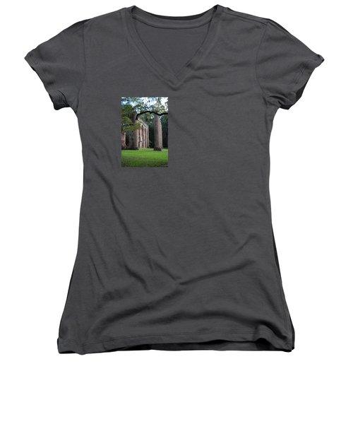 Sheldon Church 5 Women's V-Neck T-Shirt