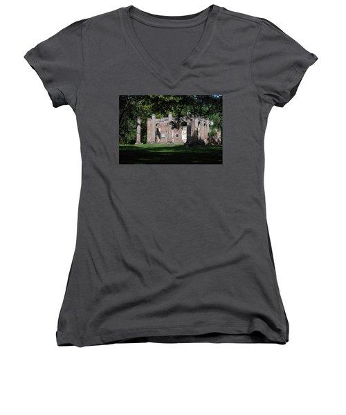 Sheldon Church 7 Women's V-Neck T-Shirt
