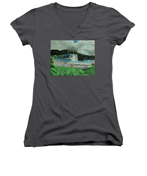 Sherry D Women's V-Neck T-Shirt