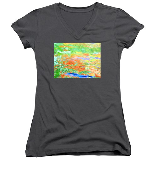 Shine Through Women's V-Neck T-Shirt