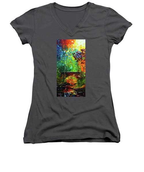 Shining Through Women's V-Neck