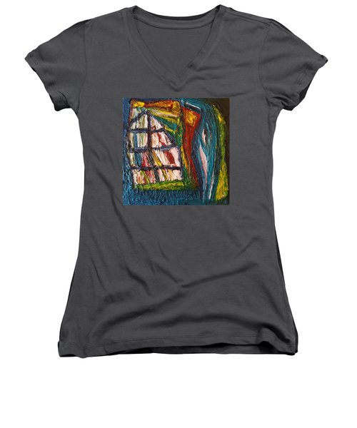 Shipwrecked Women's V-Neck T-Shirt