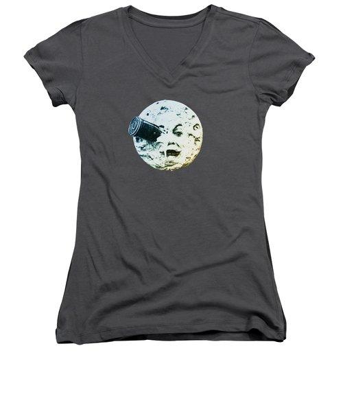 Shoot The Moon Women's V-Neck