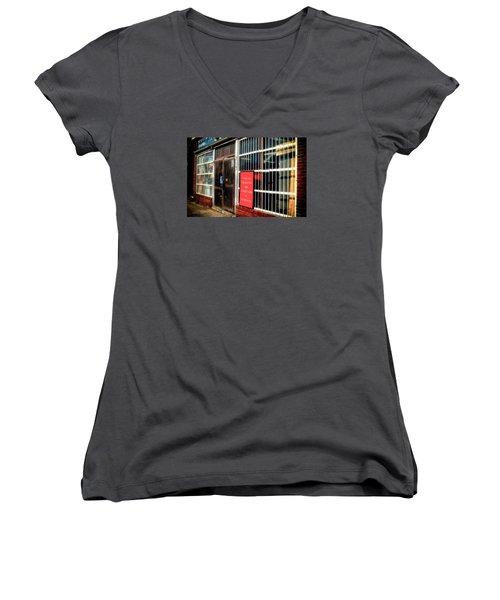 Shop Women's V-Neck T-Shirt (Junior Cut) by Denis Lemay