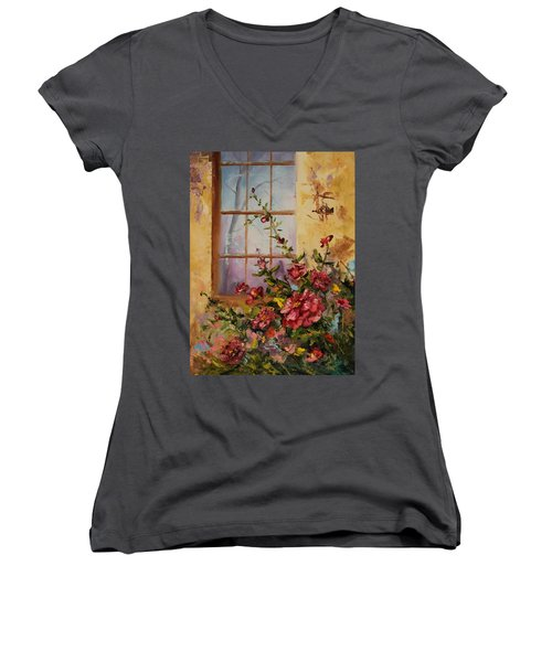 Show Of Color Women's V-Neck (Athletic Fit)