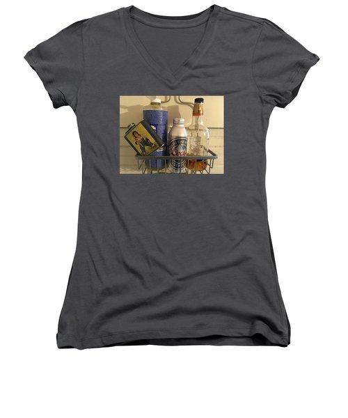 Shower Caddy 2 Women's V-Neck T-Shirt
