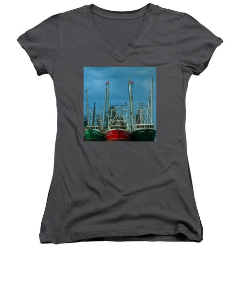 Shrimpers Women's V-Neck