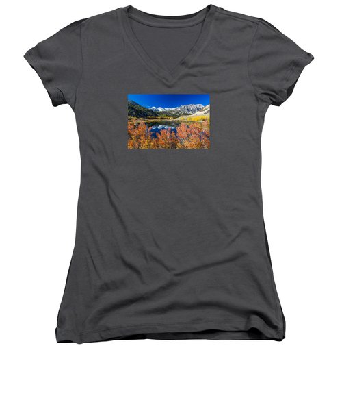 Sierra Foliage Women's V-Neck