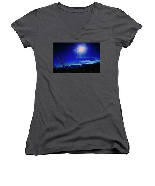 Sierra Night Women's V-Neck T-Shirt