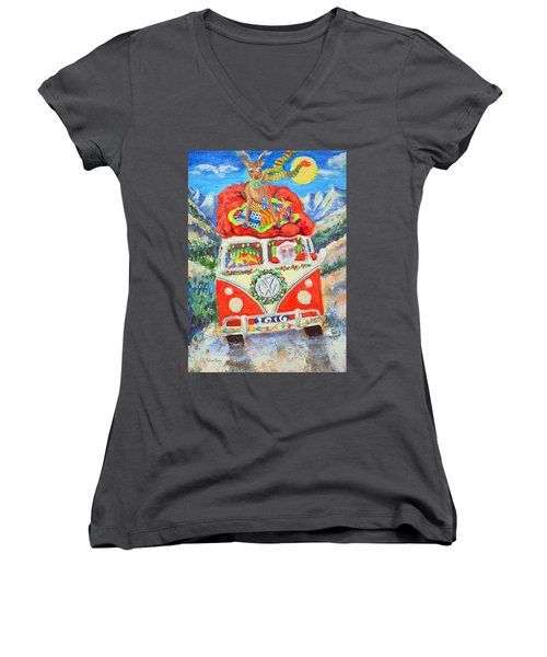 Sierra Santa Women's V-Neck T-Shirt