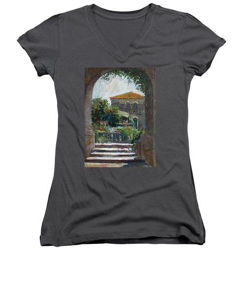 Siesta Time Women's V-Neck T-Shirt