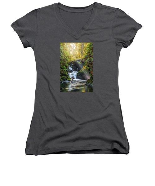 Silk Steps Women's V-Neck T-Shirt (Junior Cut)