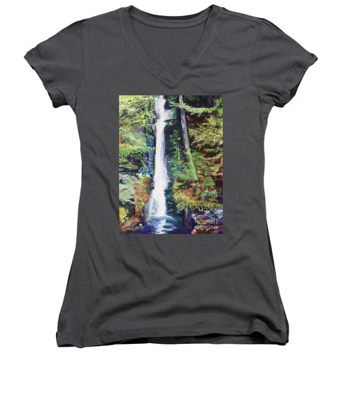 Silver Thread Falls Women's V-Neck