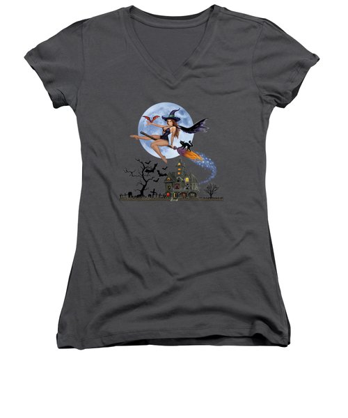 Simply Bewitch'n Women's V-Neck T-Shirt