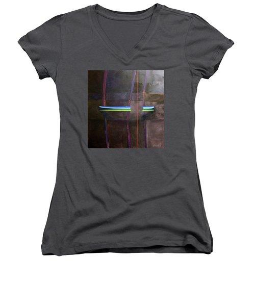 Singularity Alpha Women's V-Neck T-Shirt