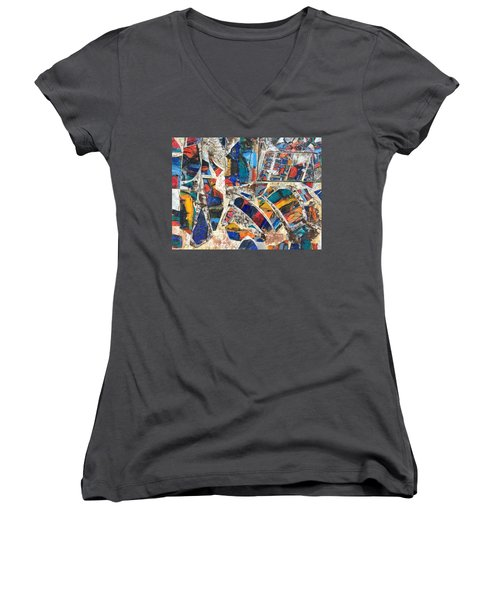 Sixth Sense Women's V-Neck (Athletic Fit)