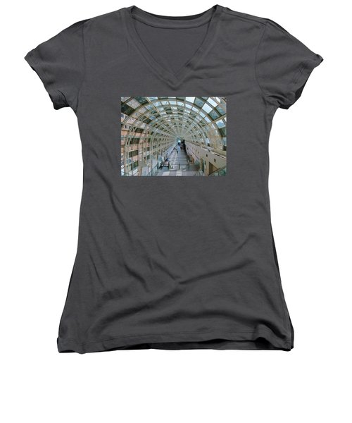 Sky Walk Toronto Women's V-Neck (Athletic Fit)