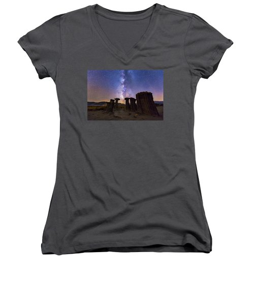 Sky Watchers Women's V-Neck