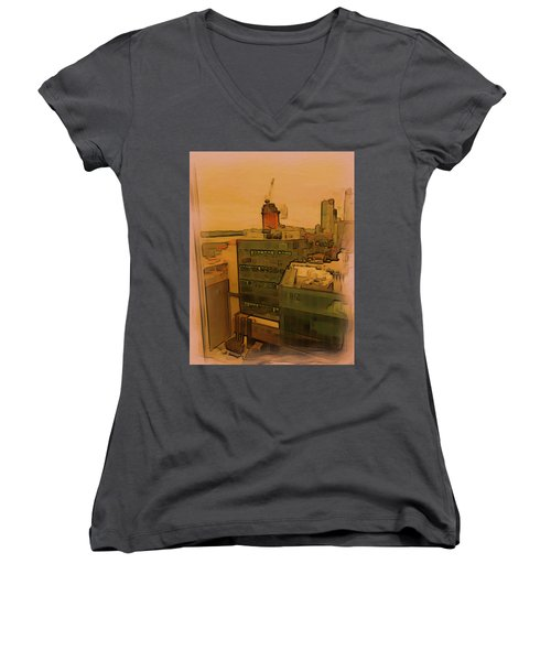 Skyline Crain Women's V-Neck