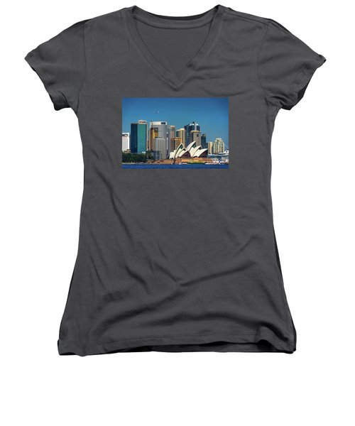Skyline Oz Women's V-Neck (Athletic Fit)