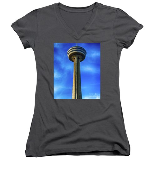 Skylon Tower Women's V-Neck