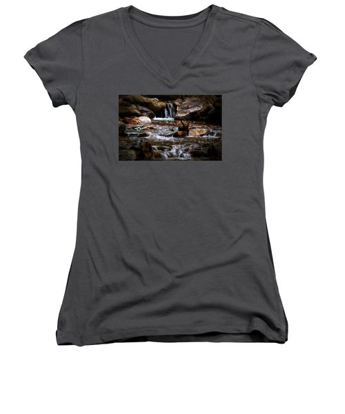 Small Falls Women's V-Neck