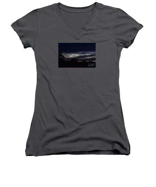 Smiling Cloud Baby Women's V-Neck T-Shirt