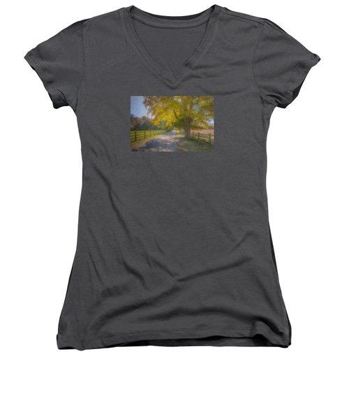 Smith Farm October Glory Women's V-Neck T-Shirt