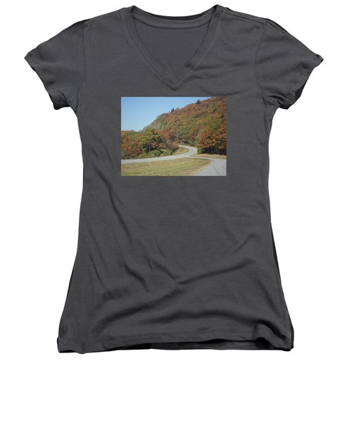 Smokies 9 Women's V-Neck (Athletic Fit)