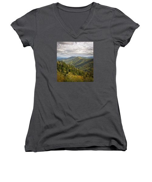 Smoky Mountains Women's V-Neck