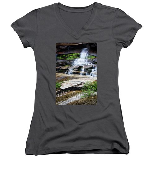 Snow Creek Cascade Women's V-Neck T-Shirt