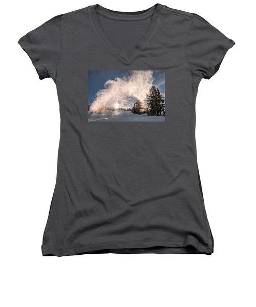 Snow Flume Women's V-Neck T-Shirt