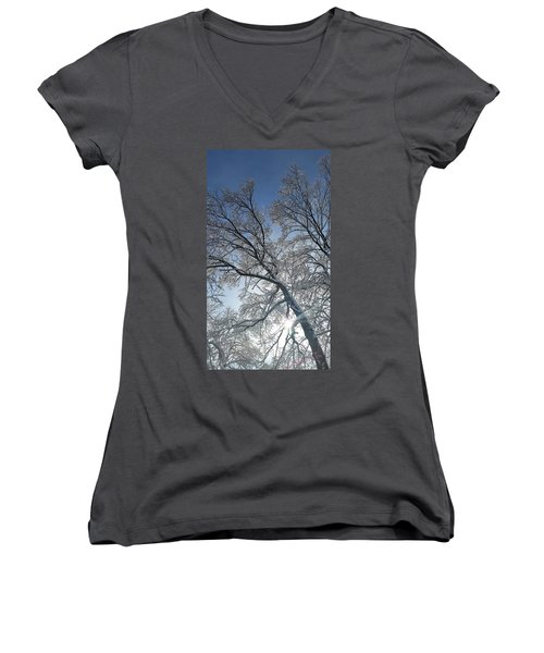 Snowshine Women's V-Neck T-Shirt