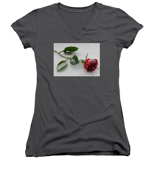 Richard's  Rose Women's V-Neck (Athletic Fit)