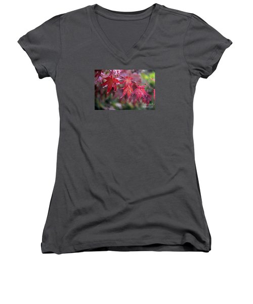 Soaked Women's V-Neck T-Shirt