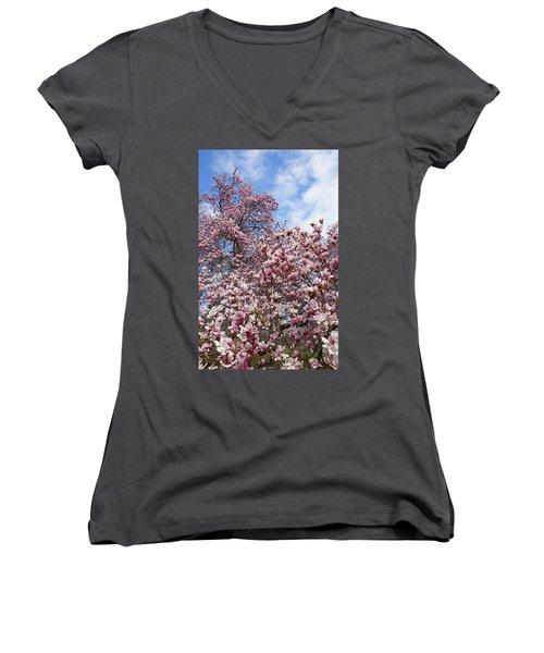 Soaring Magnolia Women's V-Neck