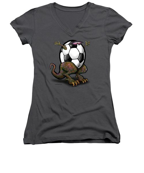 Soccer Zilla Women's V-Neck