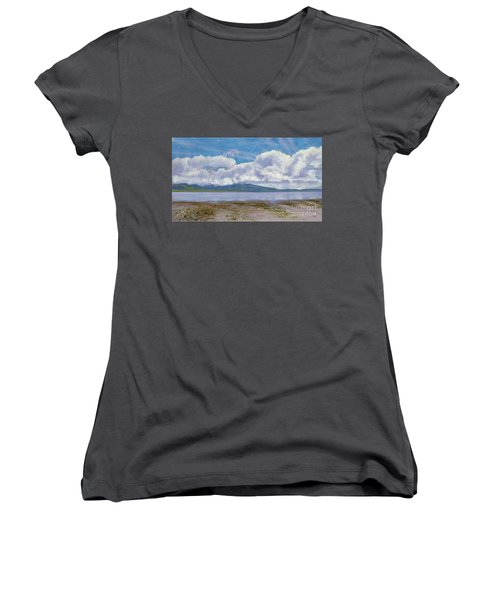 Soda Lake After The Storm Women's V-Neck (Athletic Fit)