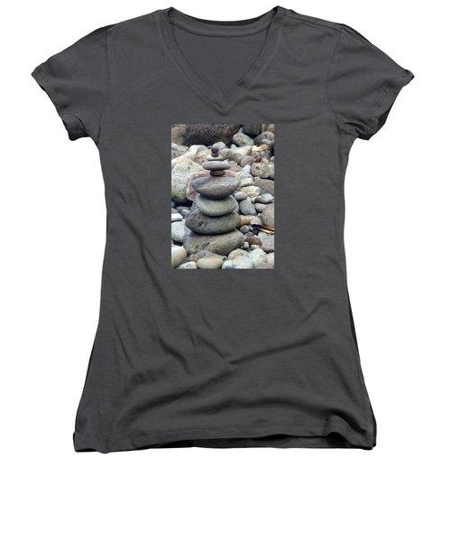 Solace Women's V-Neck T-Shirt (Junior Cut) by Angela Annas