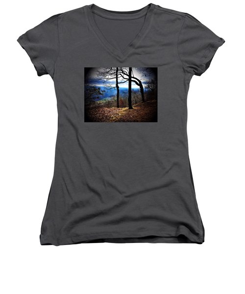 Solemn Women's V-Neck