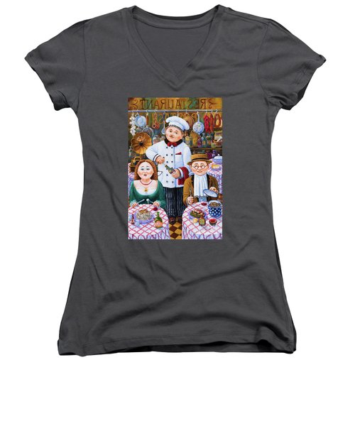 Something About Food 2 Women's V-Neck