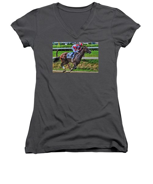 Songbird W Mike Smith Women's V-Neck (Athletic Fit)