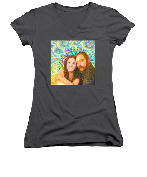 Sonia Marie And Her Sweetheart Women's V-Neck
