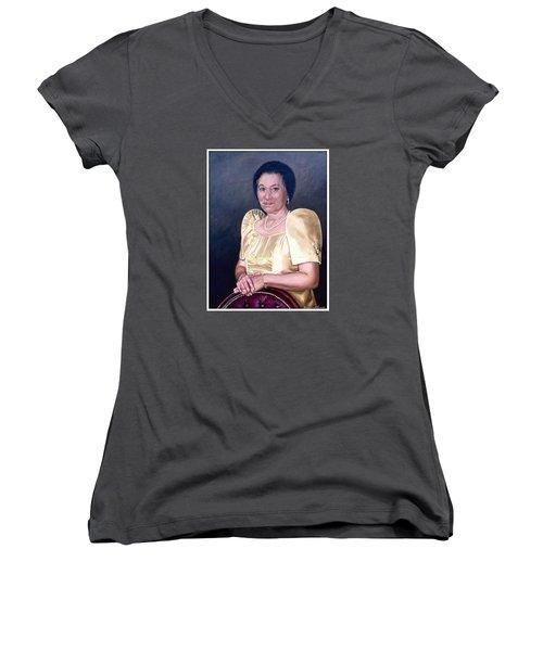 Sonia Women's V-Neck T-Shirt