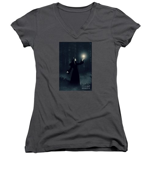 Sorcery Women's V-Neck T-Shirt