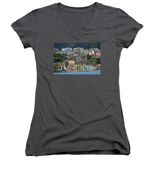Capri's Marina Piccola Women's V-Neck T-Shirt