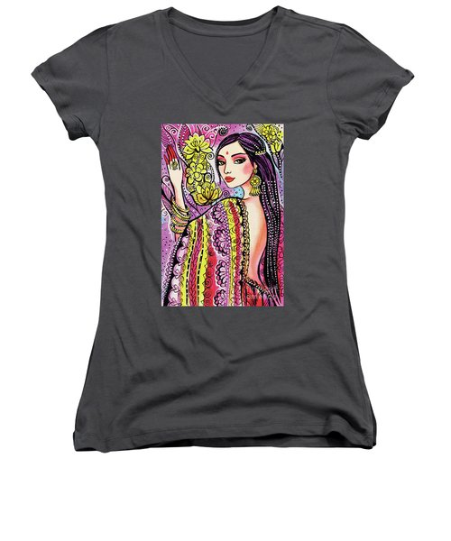 Soul Of India Women's V-Neck