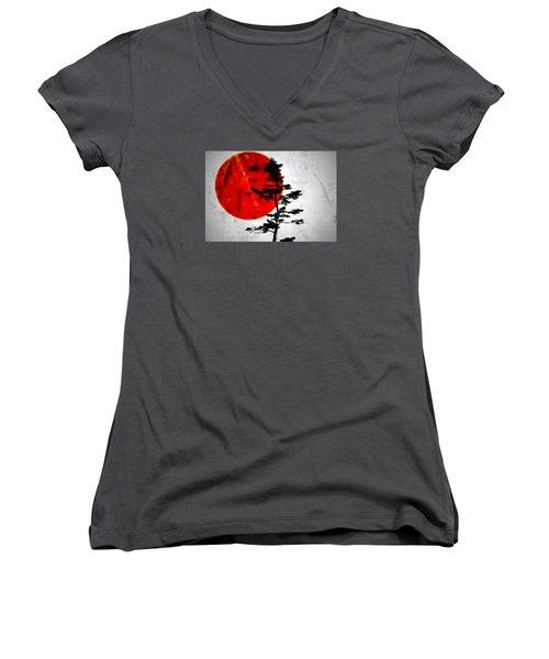 Source  Women's V-Neck T-Shirt (Junior Cut) by Mark Ross
