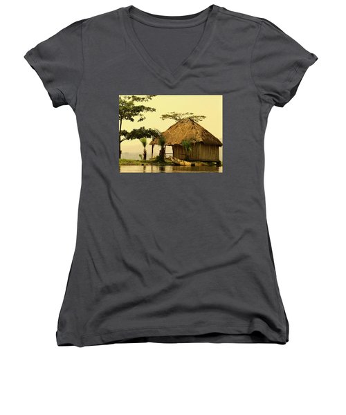 Source Of The Nile Women's V-Neck T-Shirt