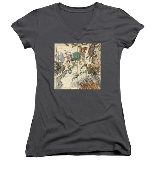 South Pole Women's V-Neck T-Shirt (Junior Cut) by Ignace-Gaston Pardies